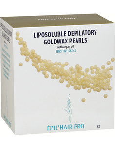 Argan Gold Depilatory Wax Pearls 1 kg