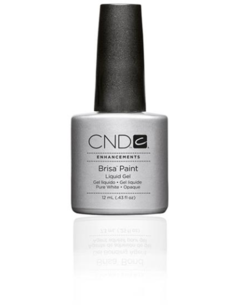 CND Brisa Paints Pure White - Opaque 12 ml