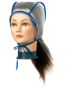Highlighter cap plastic, duplex with neck protection