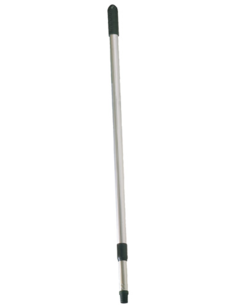 Broom stick telescope, silver, up to 150 cm