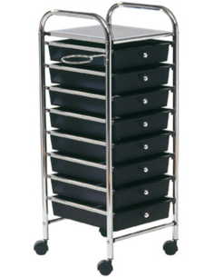 Comair Trolley Storage, zwart