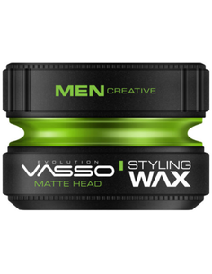 Vasso Styling Wax Matte Head