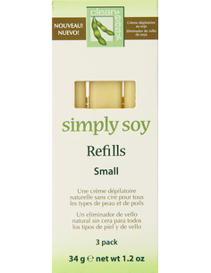 Clean & Easy Simply Soy Refills Small 3 st