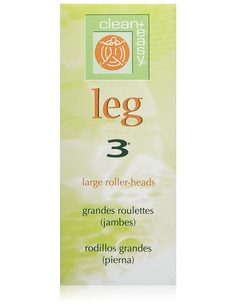 Clean & Easy Leg Large Roller Heads 3 st.