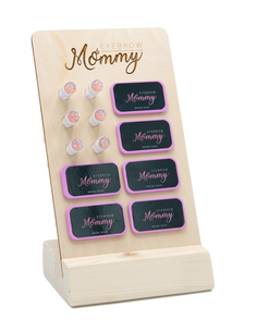 Eyebrow Mommy Brow Soap Display