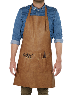 Mascul Pu Leather Apron Barburys